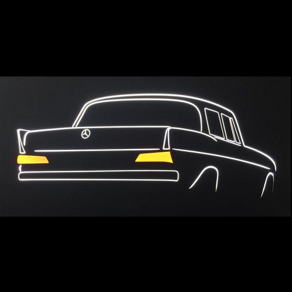 Mercedes Heckflosse